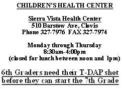 children's health center