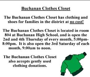 Buchanan Clothes Closet