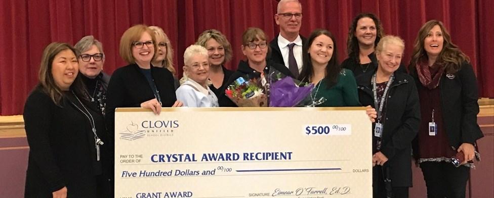 2018 Crystal Winner Miss Sharon