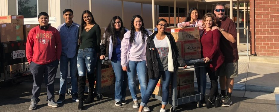 Clovis Christian Center Donations to Tarpey Classrooms