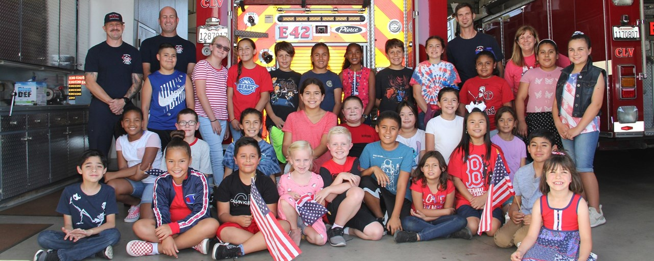 Clovis Fire Station #2 & Tarpey Student  Council